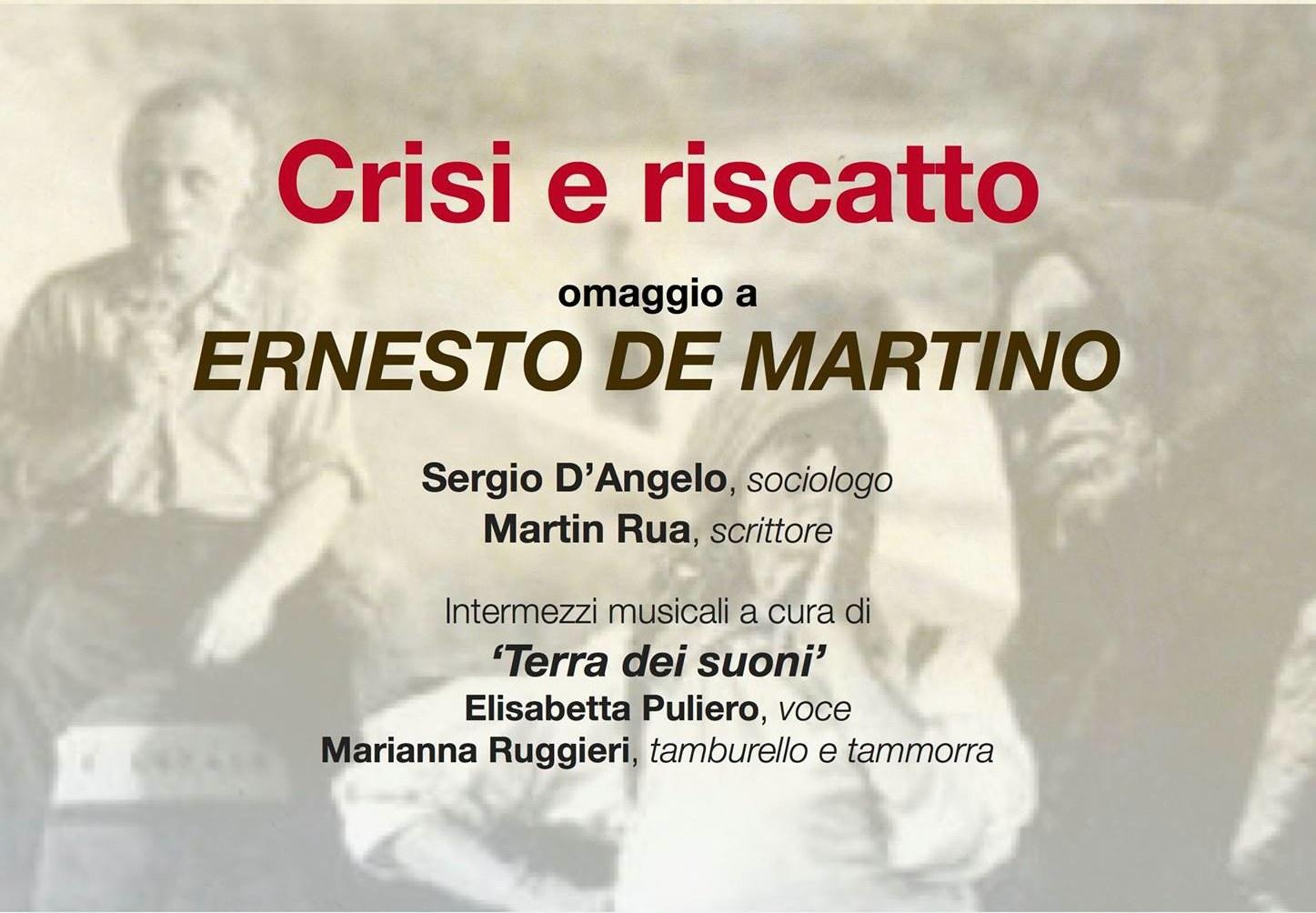 crisi e riscatto